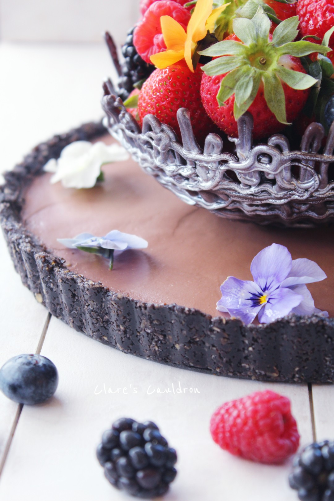 Lets 'NOT' Bake A Chocolate Tart