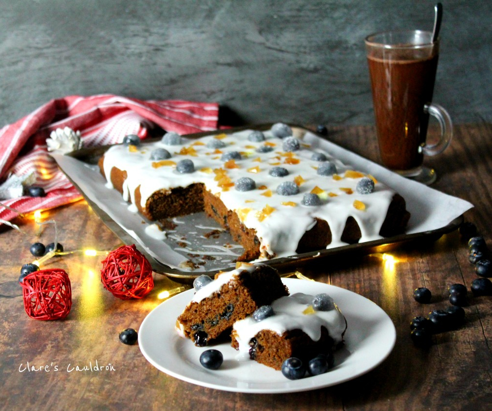 Beckys Blueberry Gingerbread
