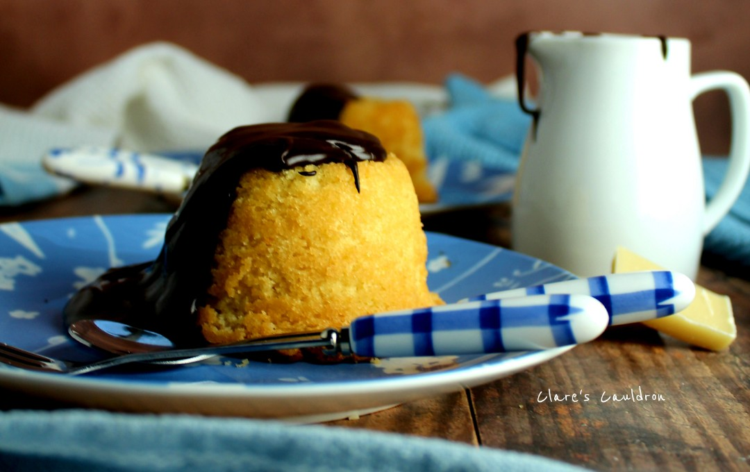 Theres Always Time for Sponge Pudding Comfort !!