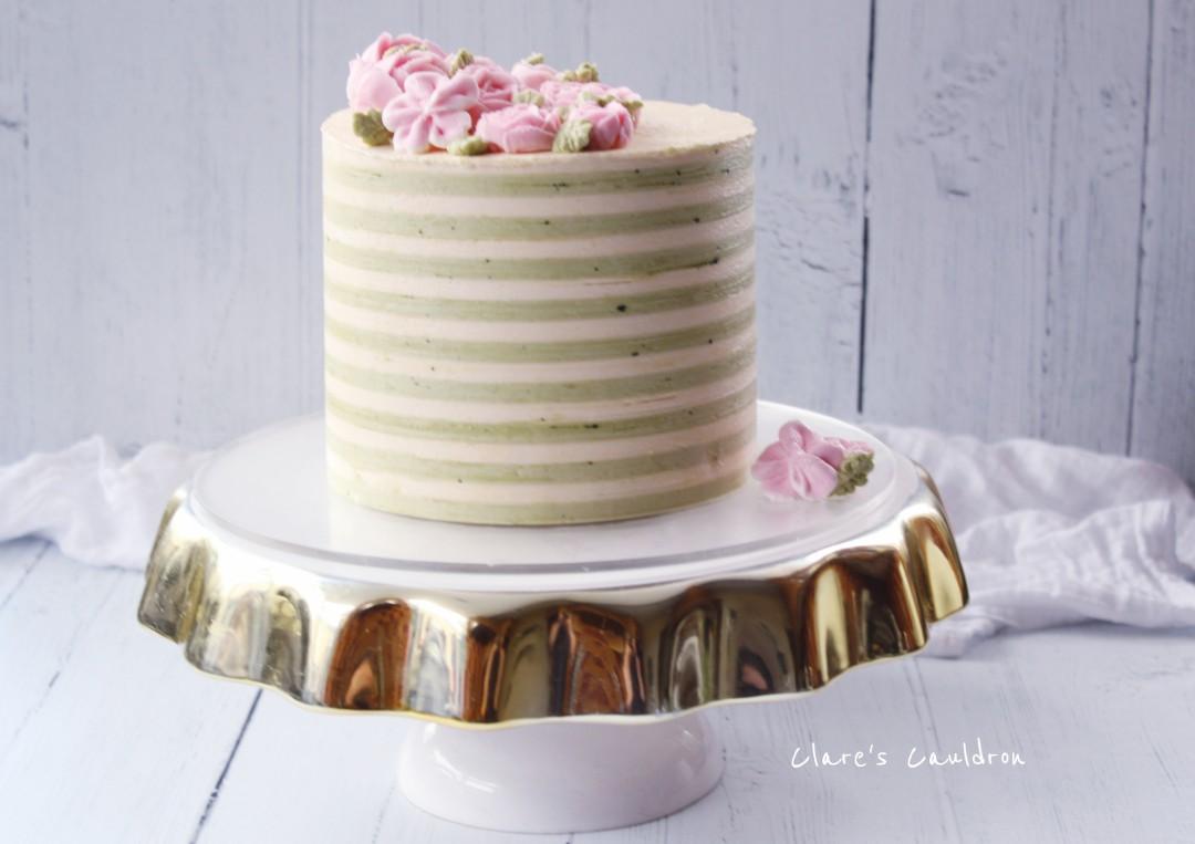 Matcha-Cha-Cha Cake !!!