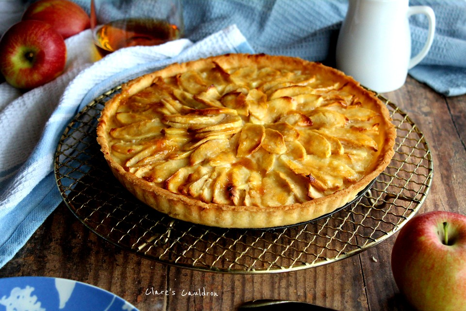 Boozy Apple Tart… Well Why Not ???