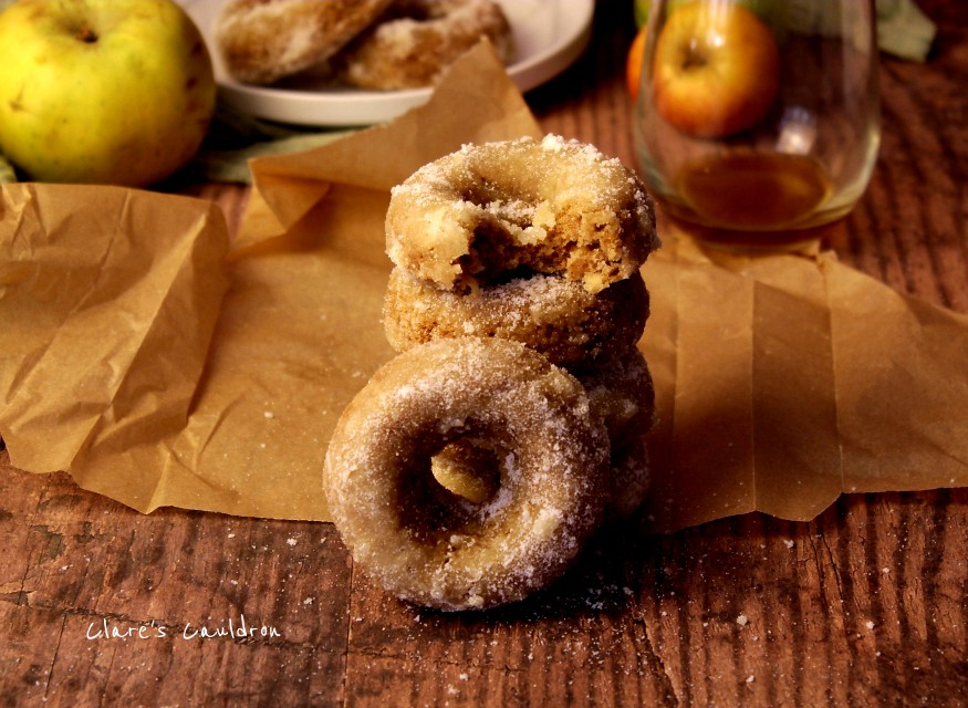 English Apple CiderDonuts